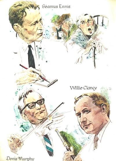 Seamus Ennis, Willie Clancy, Denis Murphy