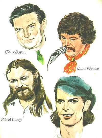 Felix Doran, Liam Weldon, Donal Lunny