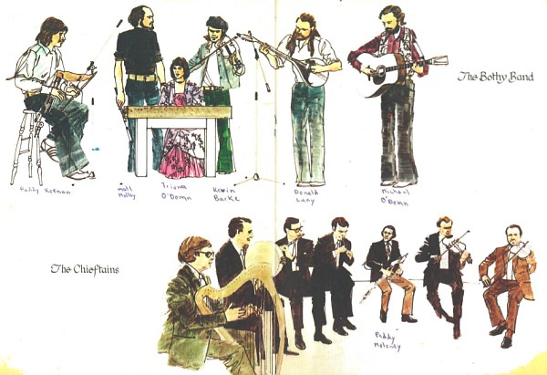 The Bothy Band & The Chieftains
